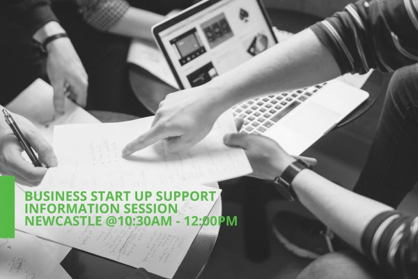 Newcastle Business Start Up Support Information Session